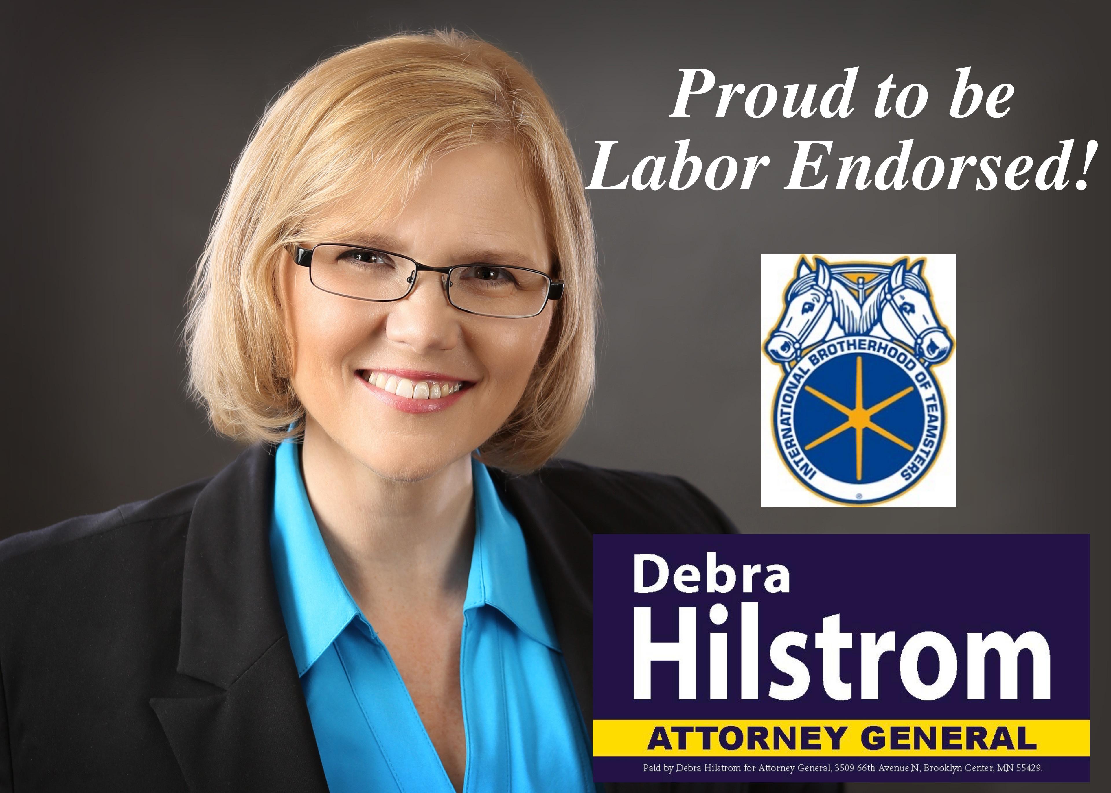 Debra Hilstrom for Attorney General