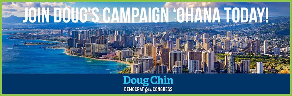 Doug Chin for Hawai'i