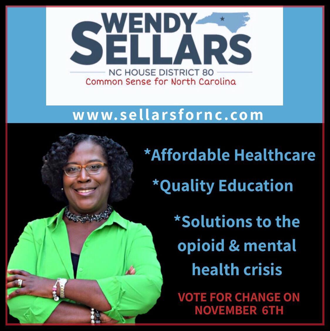 Wendy Sellars for NC