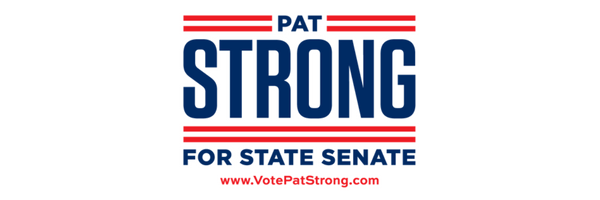 Vote Pat Strong