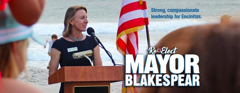 Re-Elect Mayor Blakespear!