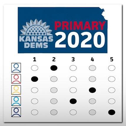 Kansas Primary Ballot Ranking