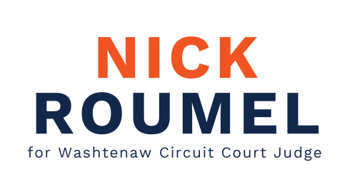 Nick Roumel for Judge