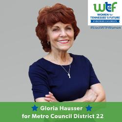 Return to GloriaHausserFor22.com