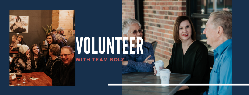 Kate Bolz for Congress Website