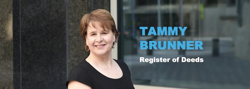 Tammy Brunner for Wake County Register of Deeds