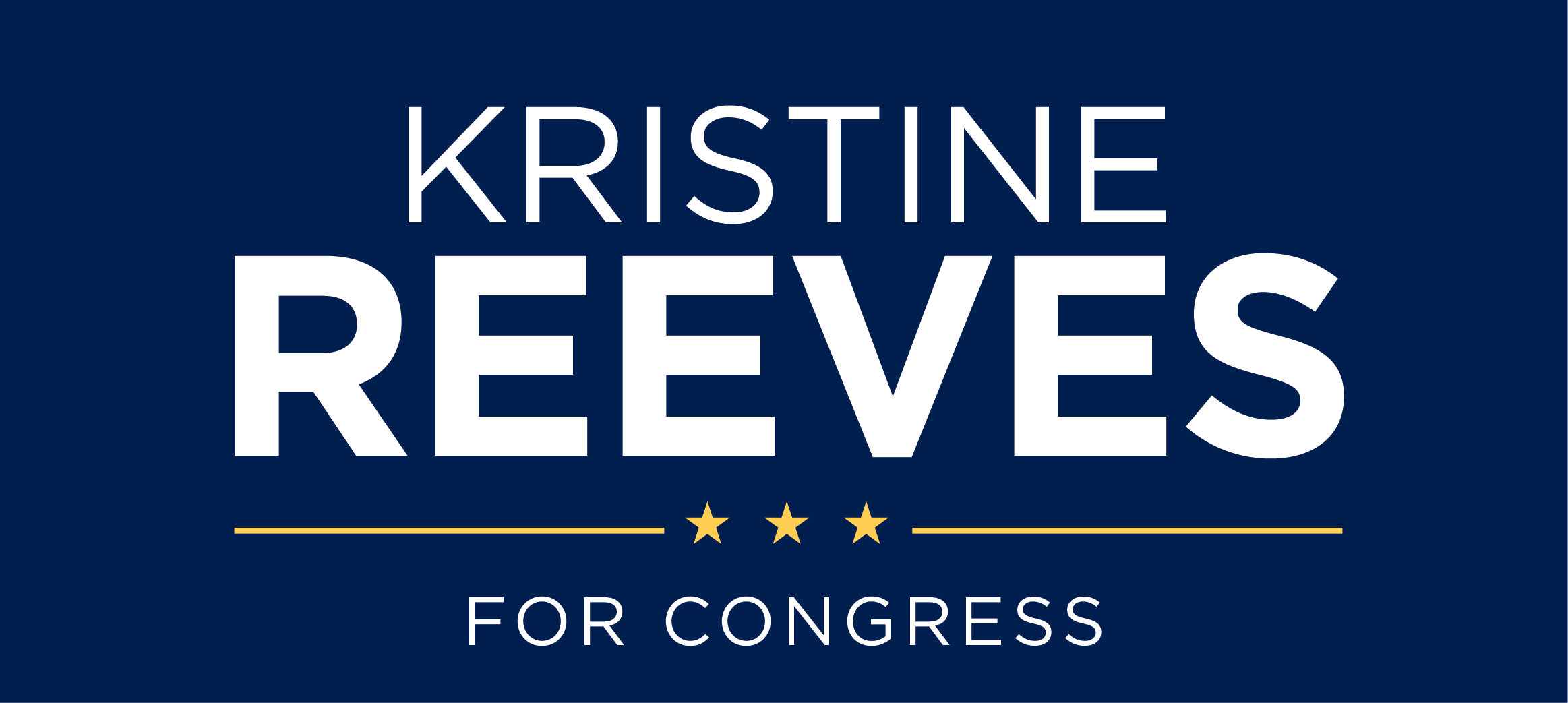 Kristine Reeves for Congress