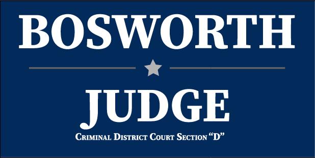 Bosworth for Judge