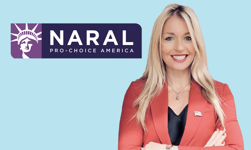 She will fight for reproductive freedom for every person when she's in Congress.