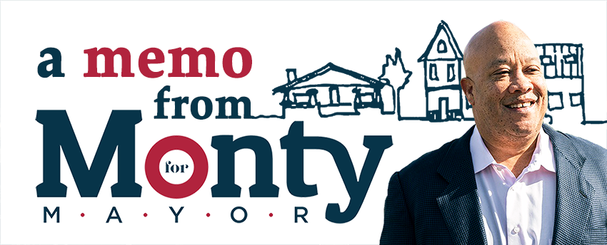 Monty for Mayor Home