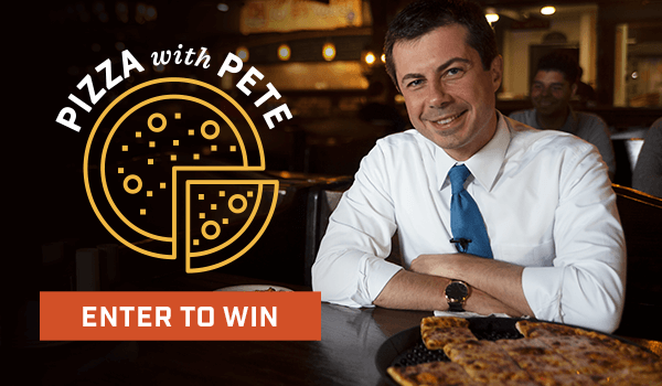 Pizza with Pete - Enter to Win