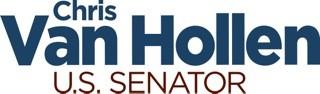 Chris Van Hollen for Senate logo