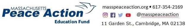 Massachusetts Peace Action Education Fund