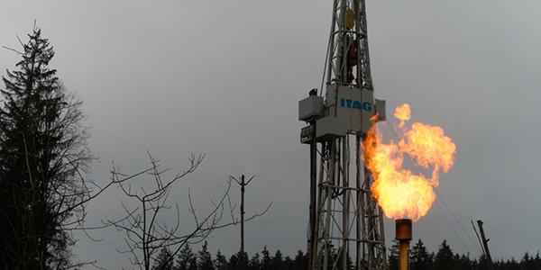 Fracking Methane Flare