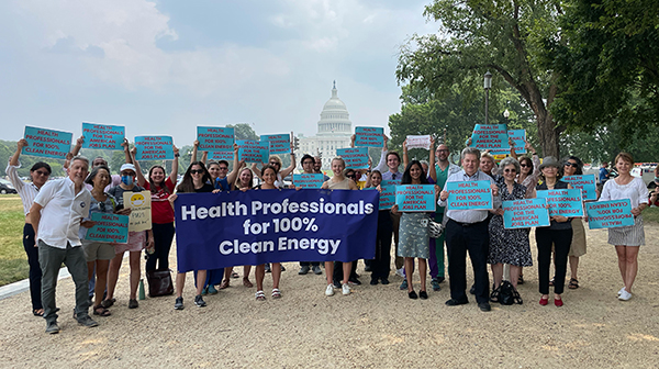 Health Professionals for 100% Clean Energy