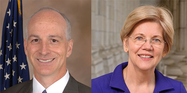 Rep. Smith and Sen. Warren