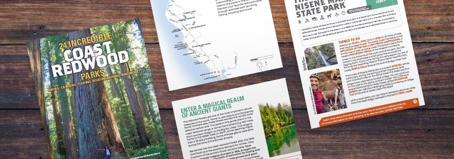 FREE E-GUIDE TO 24 INCREDIBLE COAST REDWOOD PARKS