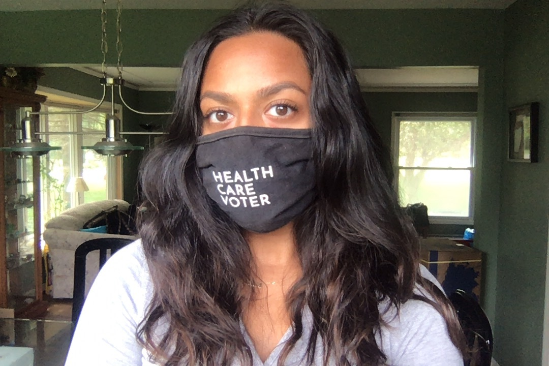 Request Your FREE Health Care Voter Face Mask