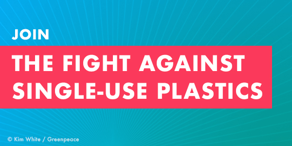Join the fight against single-use plastic!
