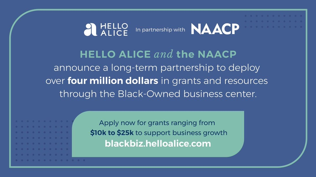 NAACP x Hello Alice: Black-Owned Business Resource Center