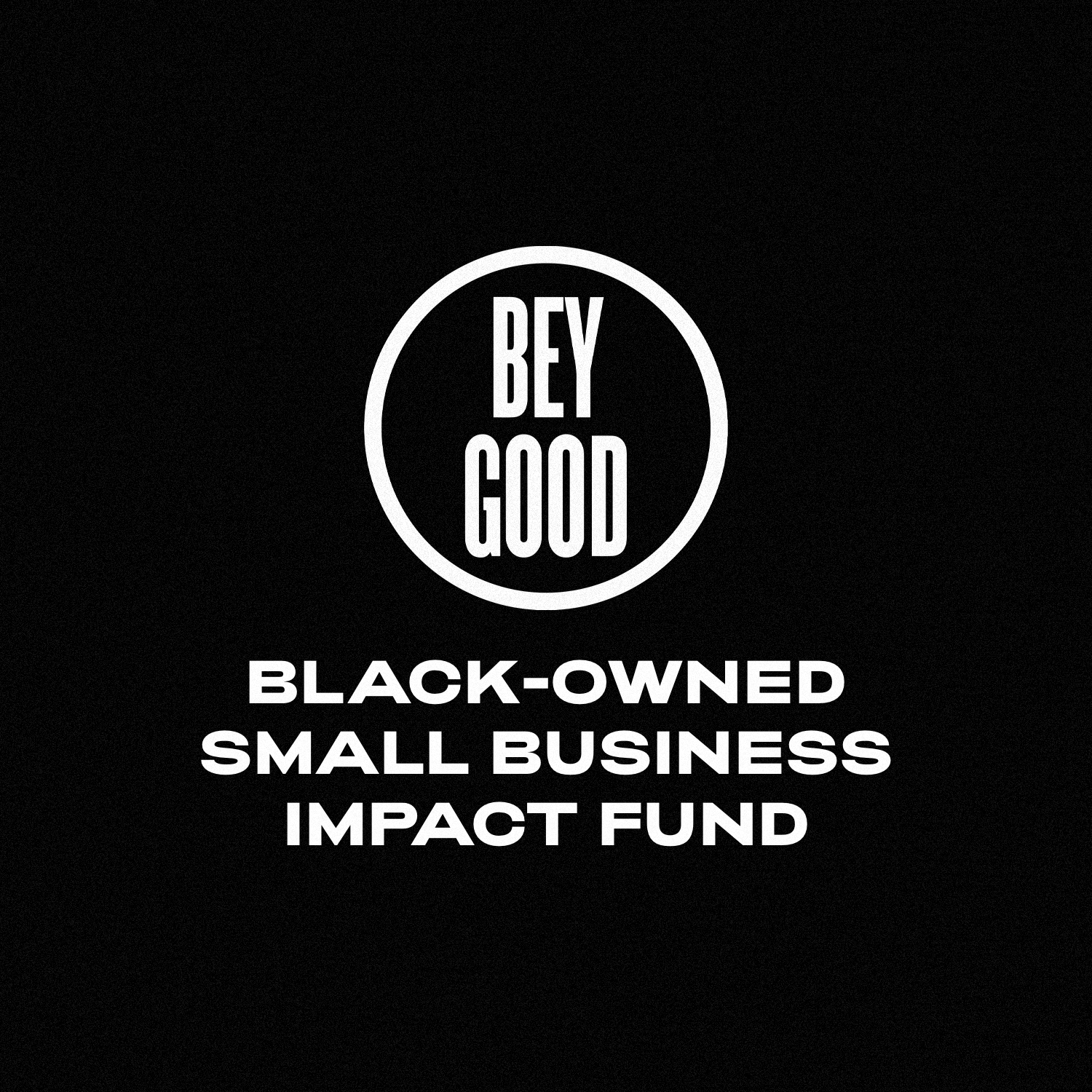 NAACP x BeyGOOD: Black Owned Small Business Impact Fund