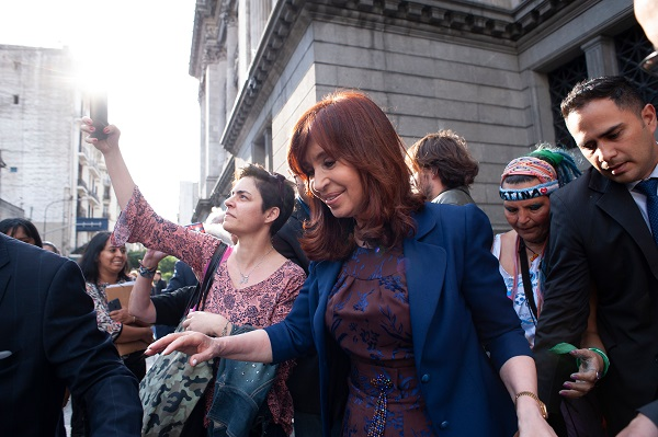 Cristina Fernández and Xi Jinping in Argentina